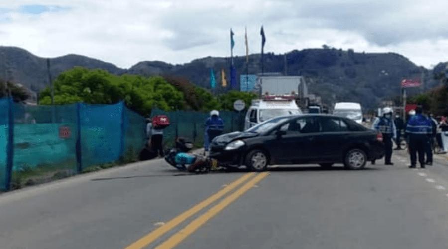 Accidente en la variante Chía-Cota deja una persona fallecida