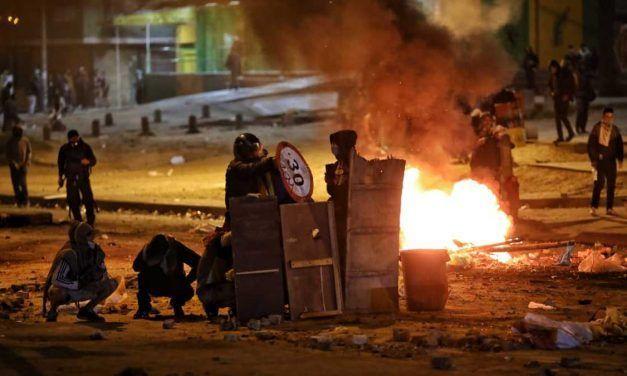 Continúan protestas en Usme