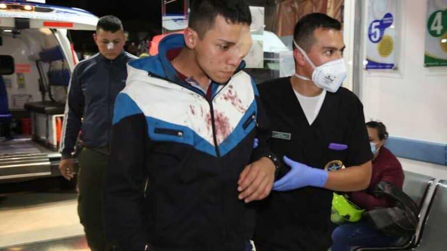 Policías atacados en estación de Madrid