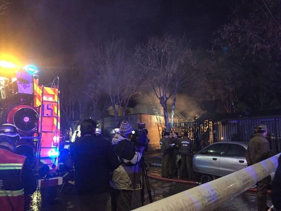 Niña muere en incendio de una casa en Bogotá
