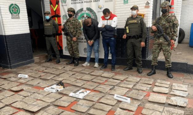 Tráfico de marihuana en Sibaté