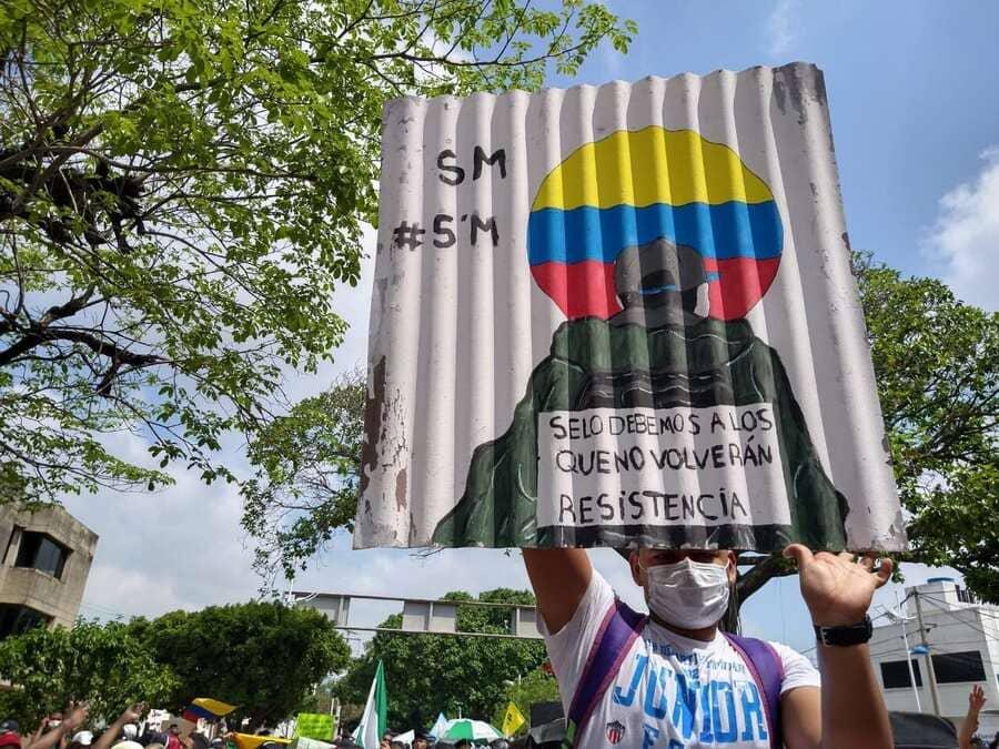 Nuevo paro nacional el 26 de agosto en Colombia