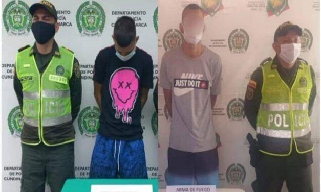 Detenidos presuntos delincuentes en Ricaurte y Flandes