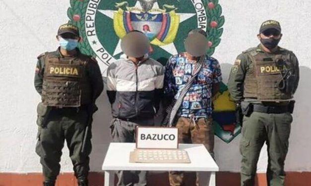 En Zipaquirá, dos extranjeros fueron capturados por vender drogas