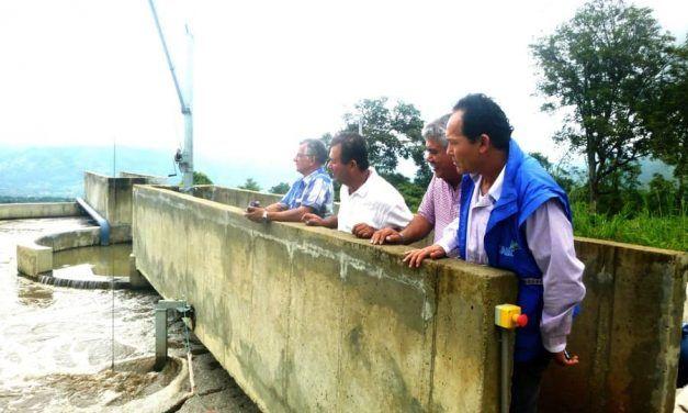 La Mesa firmó convenios de construcción de alcantarillado y plantas de tratamiento