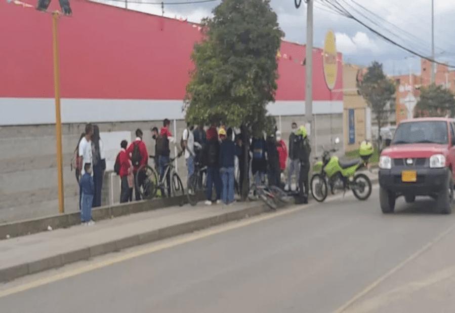 Ciudadanos en Zipaquirá ayudan a capturar presunto ladrón