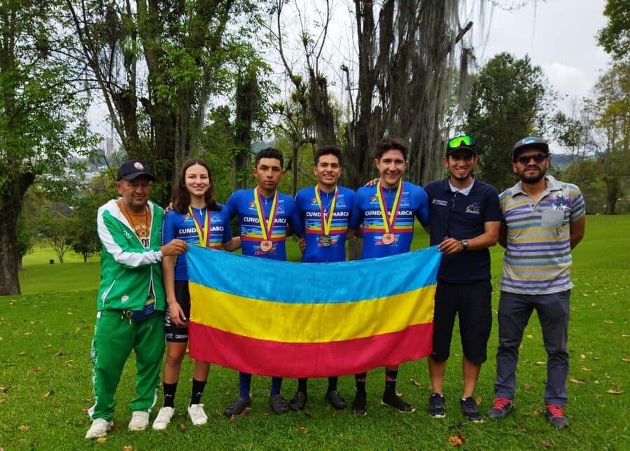 Zipaquirá logra triunfos en ciclomontañismo y fútbol de salón
