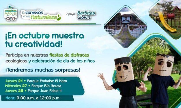 Actividades en parques turisticos para el mes de octubre